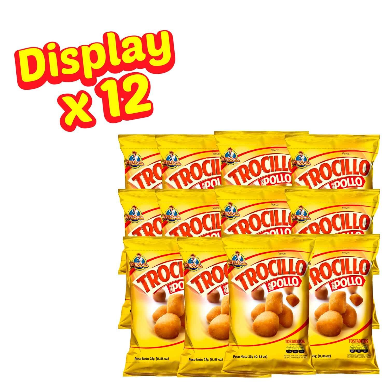 Trocillo Pollo 25 g (Display x 12 UND.)_2