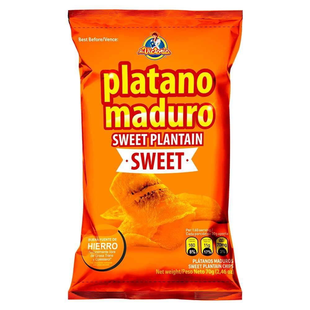 Plátano Maduro Sweet 70 g (Display x 6 UND.)_1