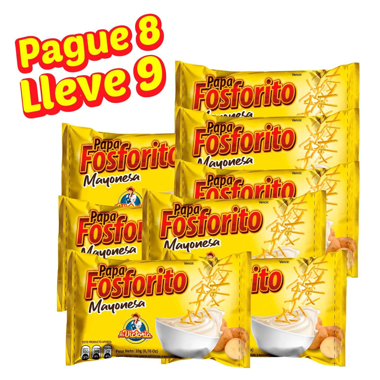Papa Fosforito Mayonesa 20 gr. (DISPLAY PAGUE 8 LLEVE 9)_2