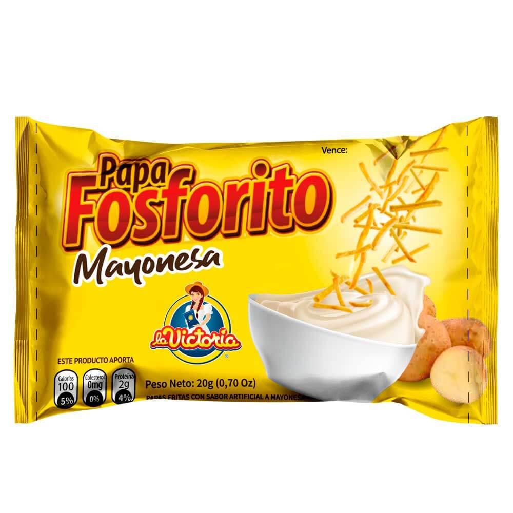 Papa Fosforito Mayonesa 20 gr. (DISPLAY PAGUE 8 LLEVE 9)_1