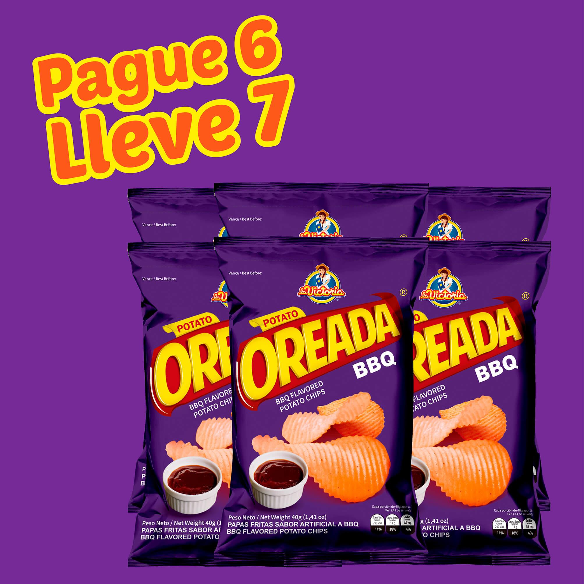 Papa Oreada BBQ 40 g (Display PAGUE 6 LLEVE 7 UND.)_2
