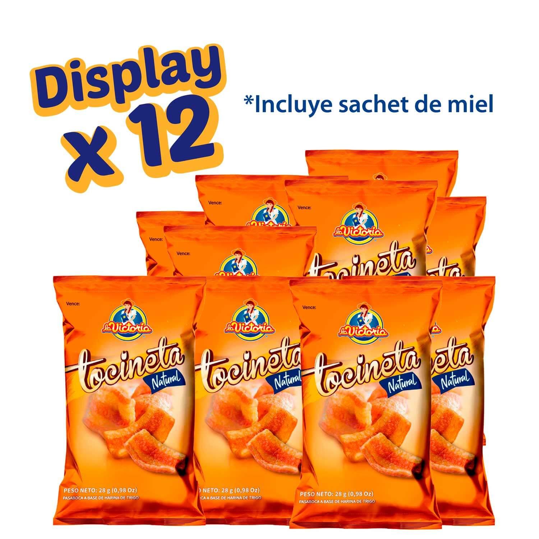 Tocineta Natural con Sachet de Miel (Display x 12 UND.)_2
