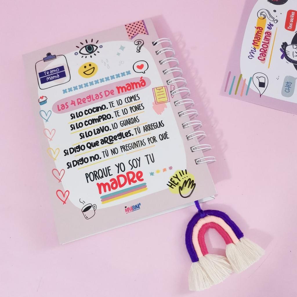 Cuaderno personalizado las frases celebres de mamá_2
