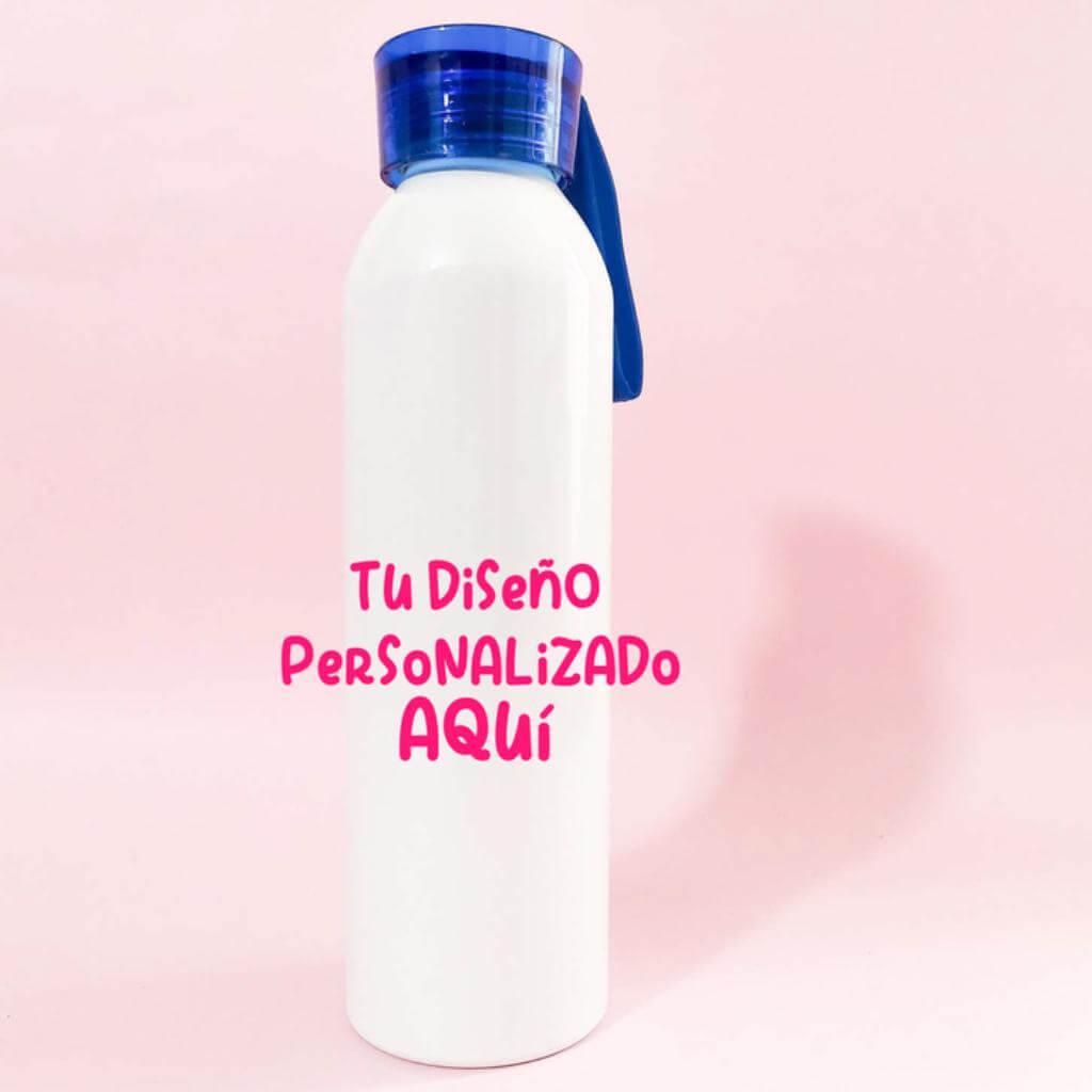 Botilito 650 ml tapa azul personalizado_1