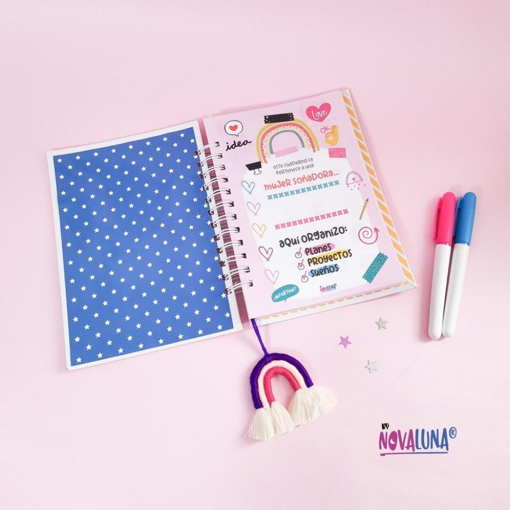 Cuaderno personalizado #SeValeSoñar_9