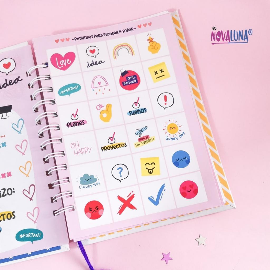 Cuaderno personalizado #SeValeSoñar_3