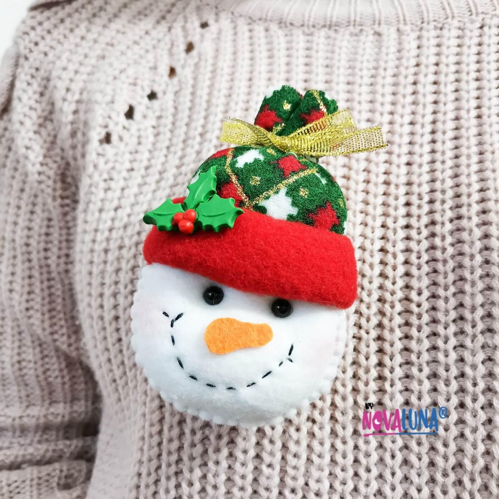 Prendedores navideños _1
