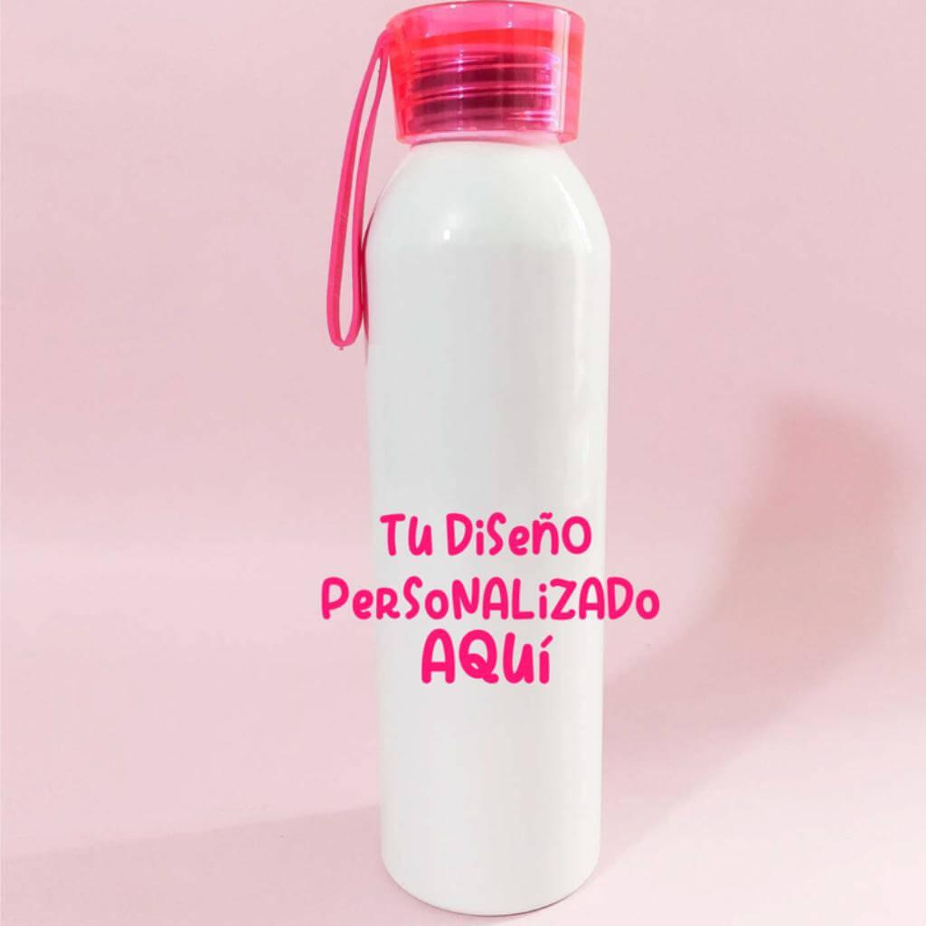 Botilito 650 ml tapa fucsia personalizado_1