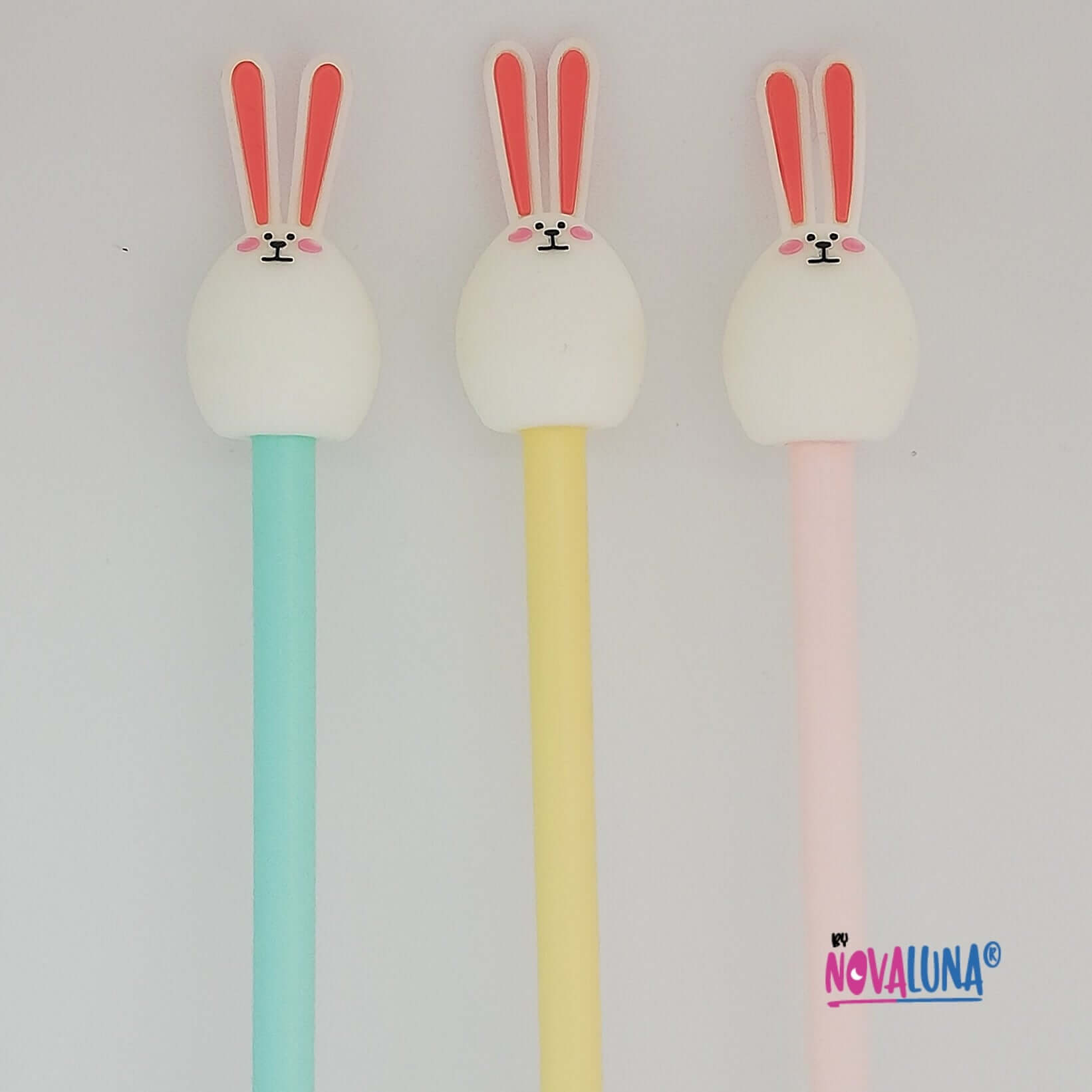 Esfero conejo pastel azul_1