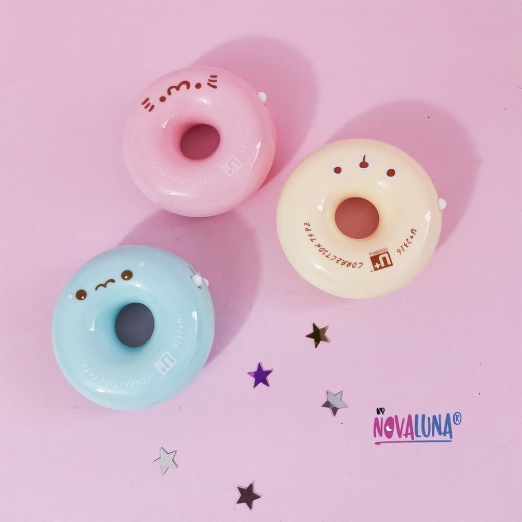 Corrector en cinta donut cute_1