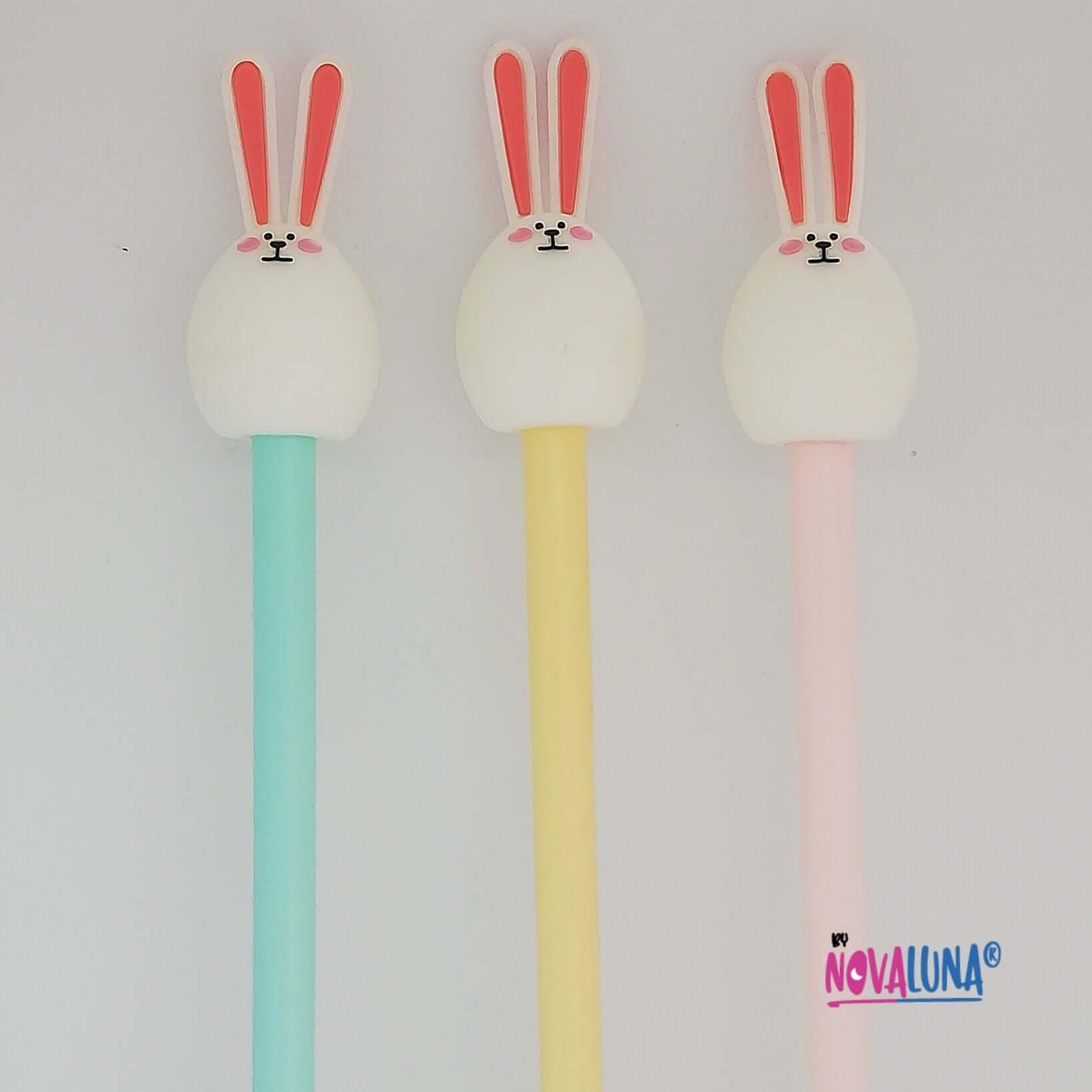 Esfero conejo pastel amarillo_1