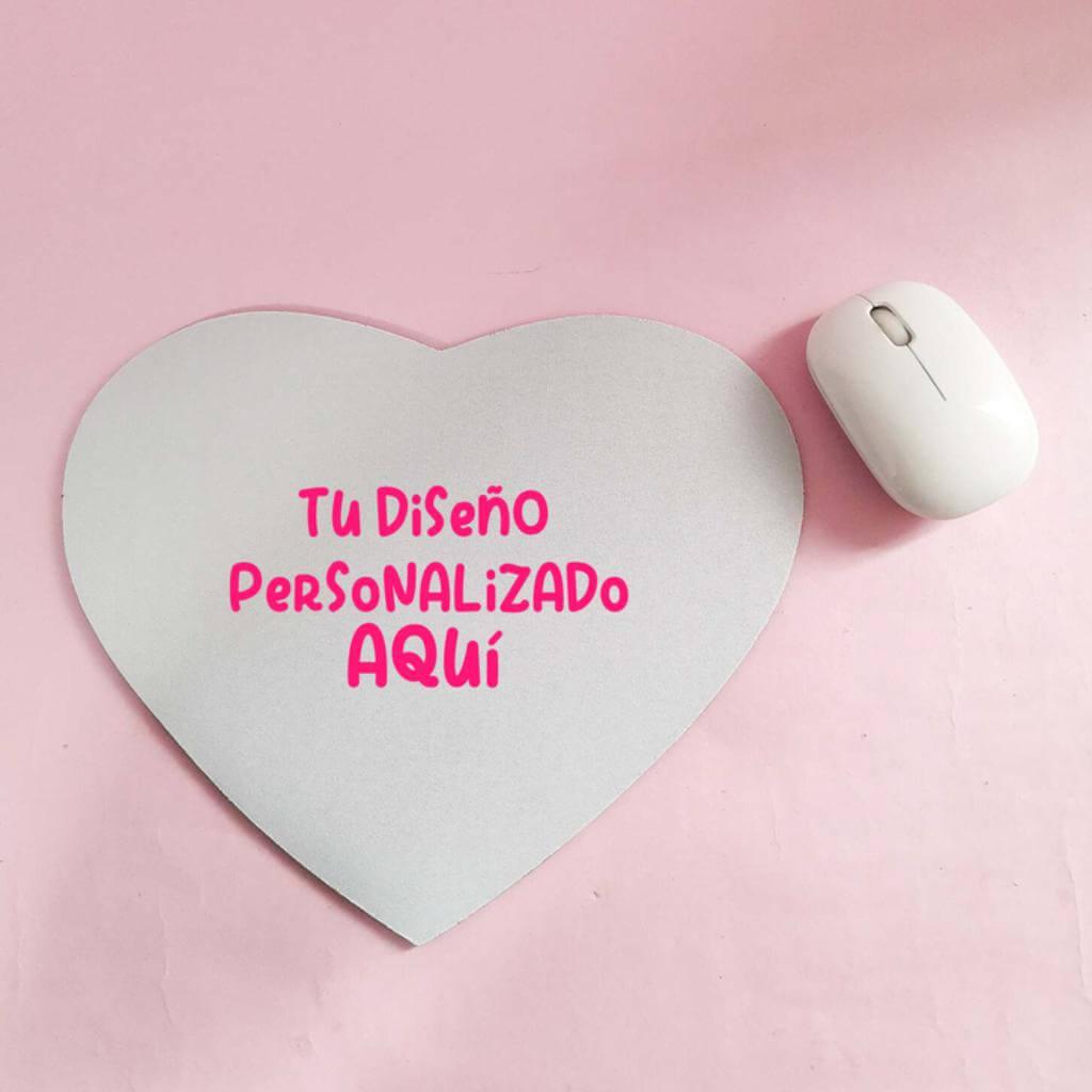 Pad mouse corazón personalizado _1