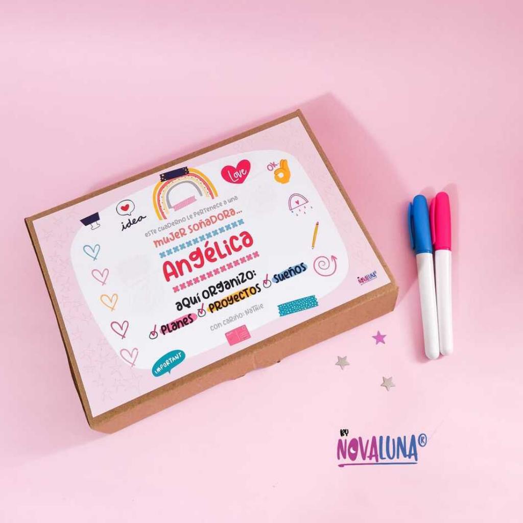 Cuaderno personalizado #SeValeSoñar_2