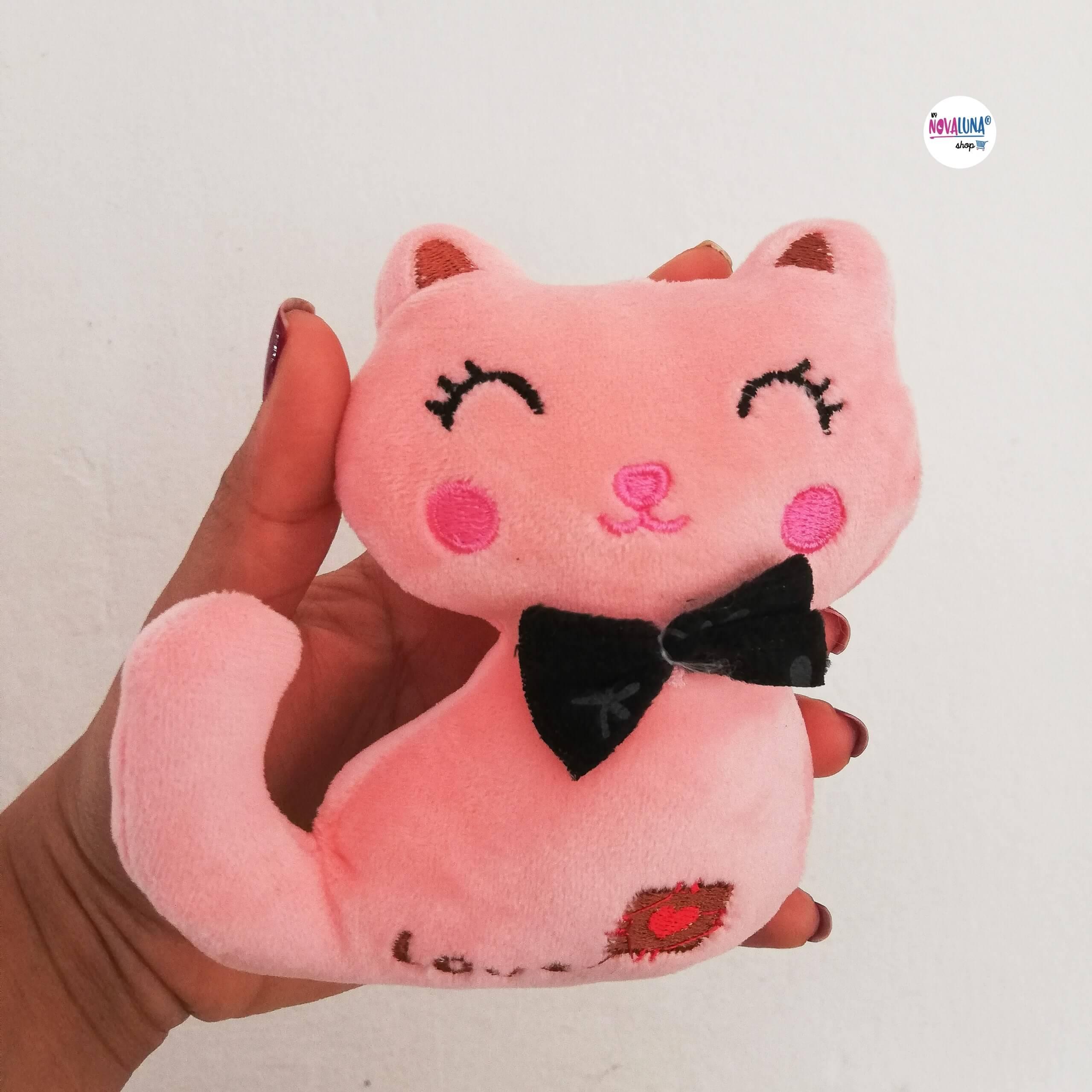 Llavero gato rosa_2