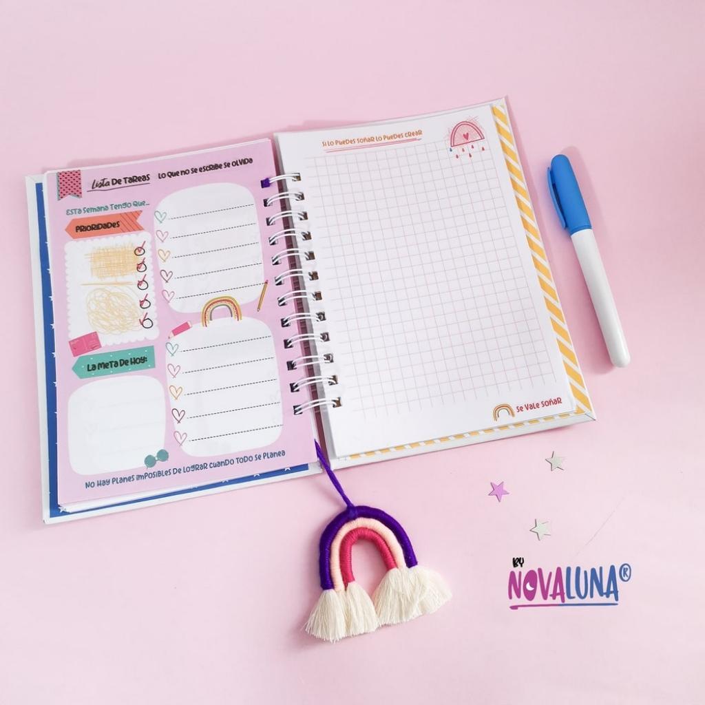 Cuaderno personalizado #SeValeSoñar_6