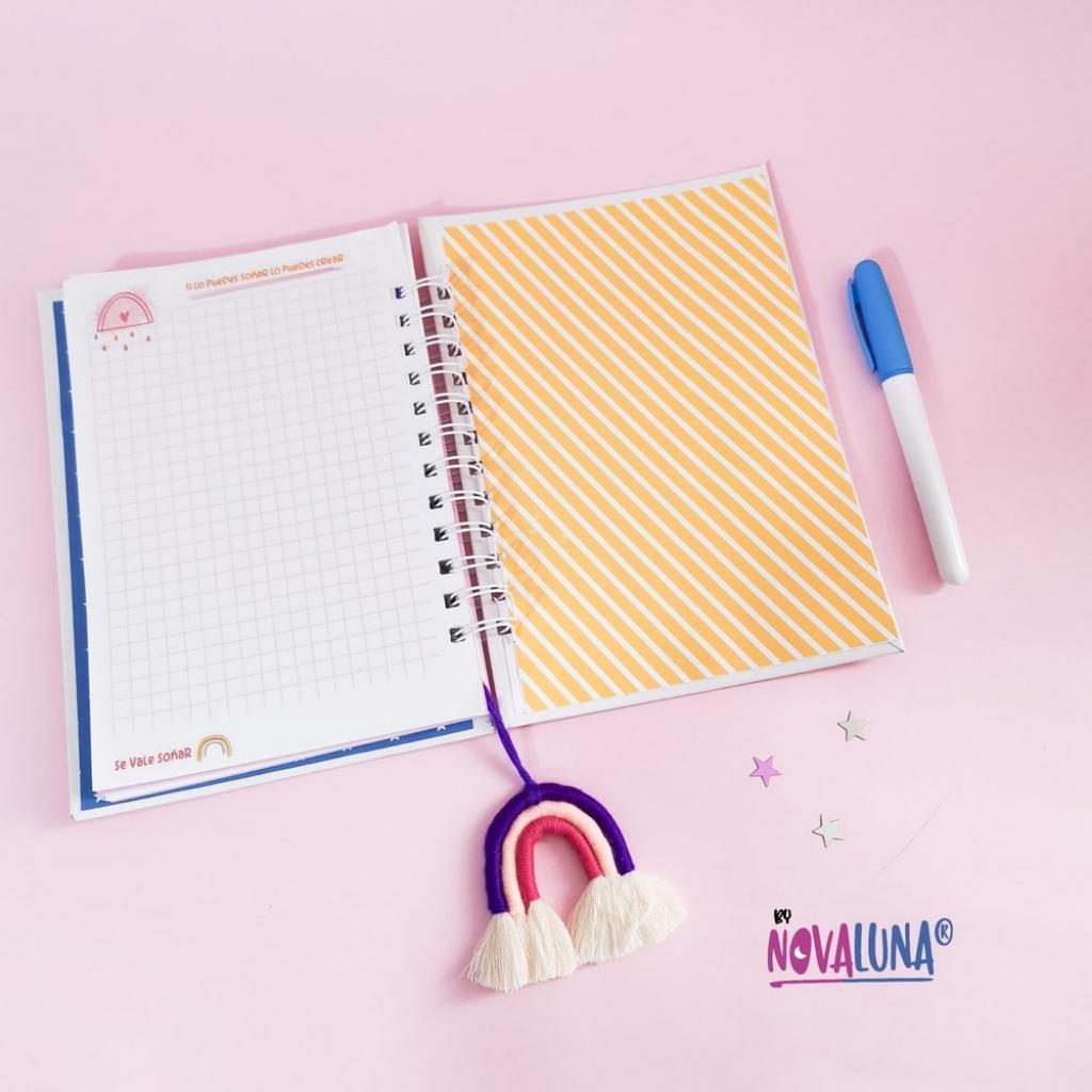 Cuaderno personalizado #SeValeSoñar_7