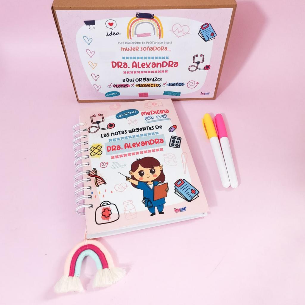 Cuaderno personalizado doctoras_2