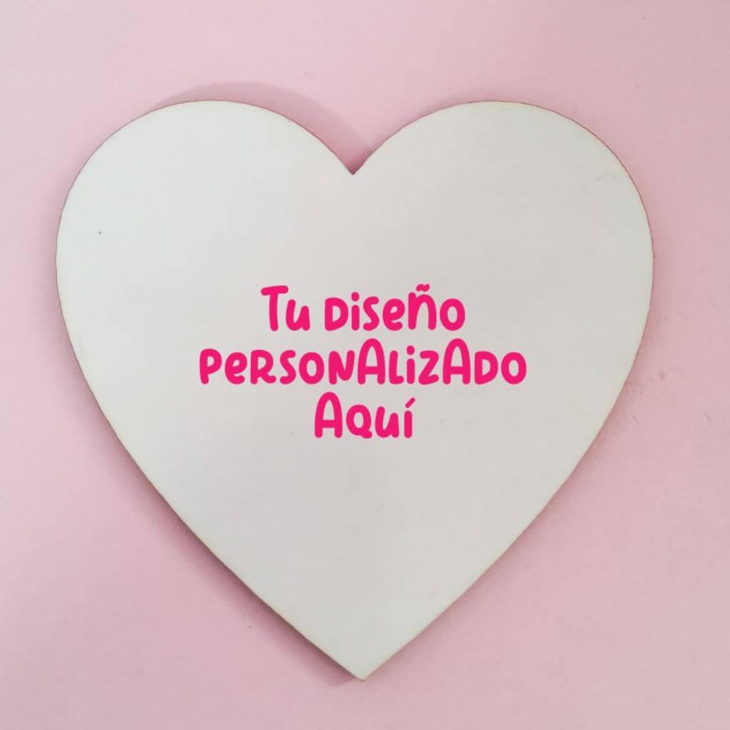 Portavaso mdf corazón personalizado_1
