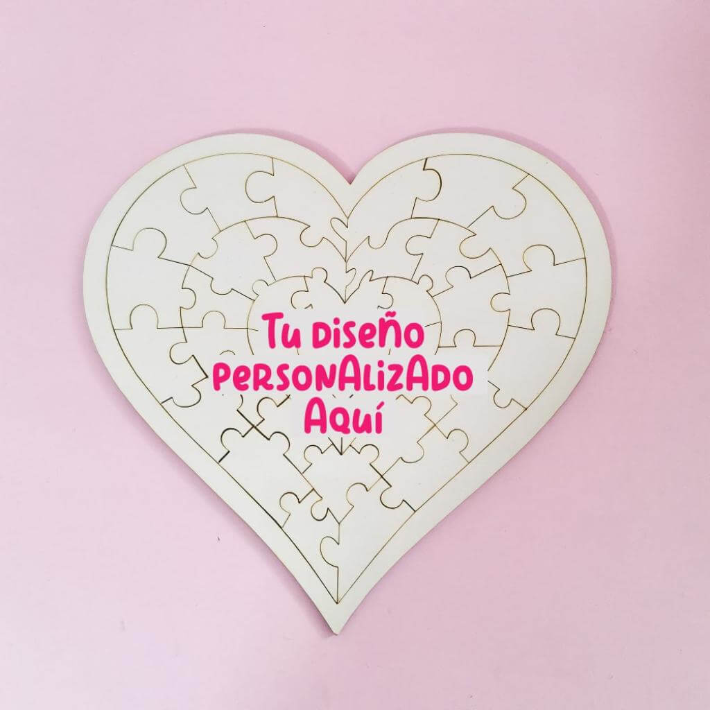 Rompecabezas corazón personalizado_1