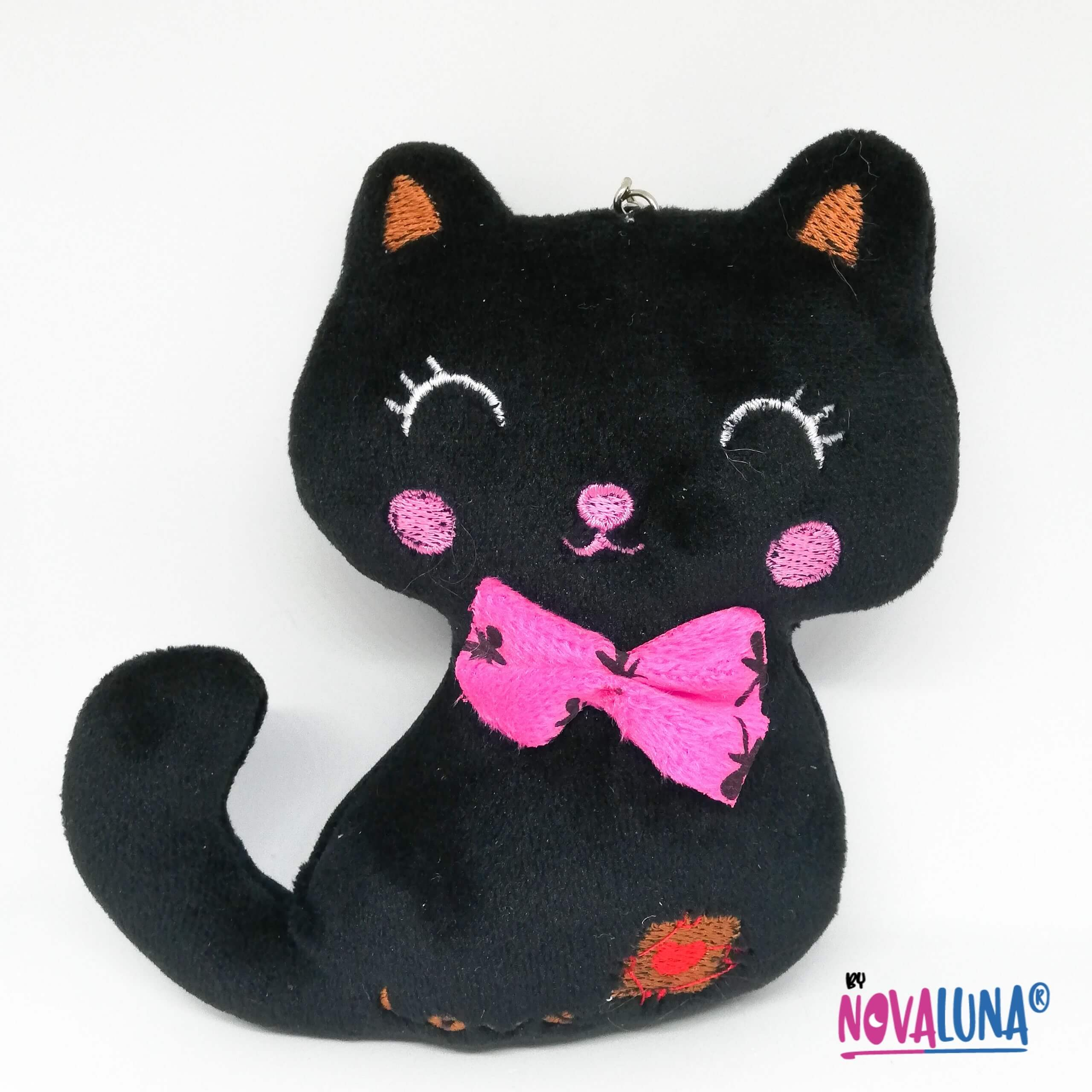 Llavero gato negro_1