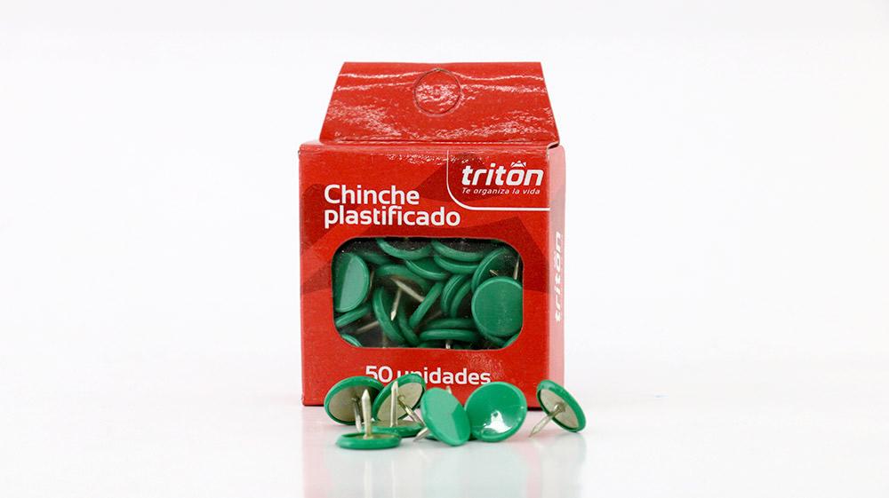 CHINCHE PLASTIFICADO X50 COLOR TRITON C/U_1