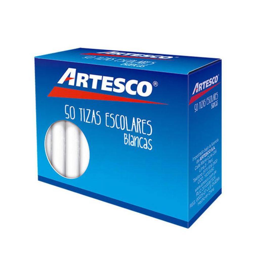 TIZA  ANTIALERGICA BLANCA X50 ARTESCO_1
