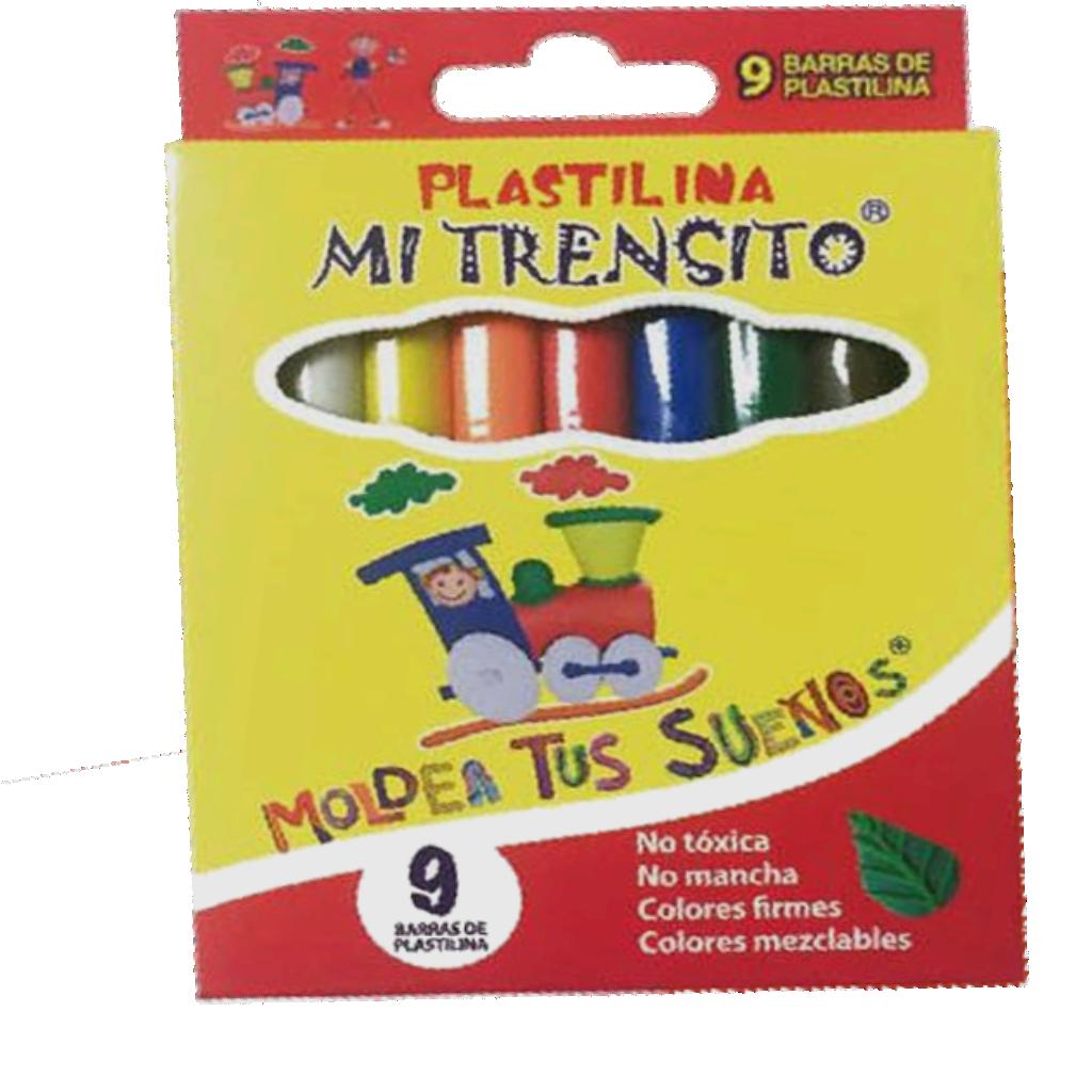 PLASTILINA TRENSITO PEQ X9 ALVAPLAST_1