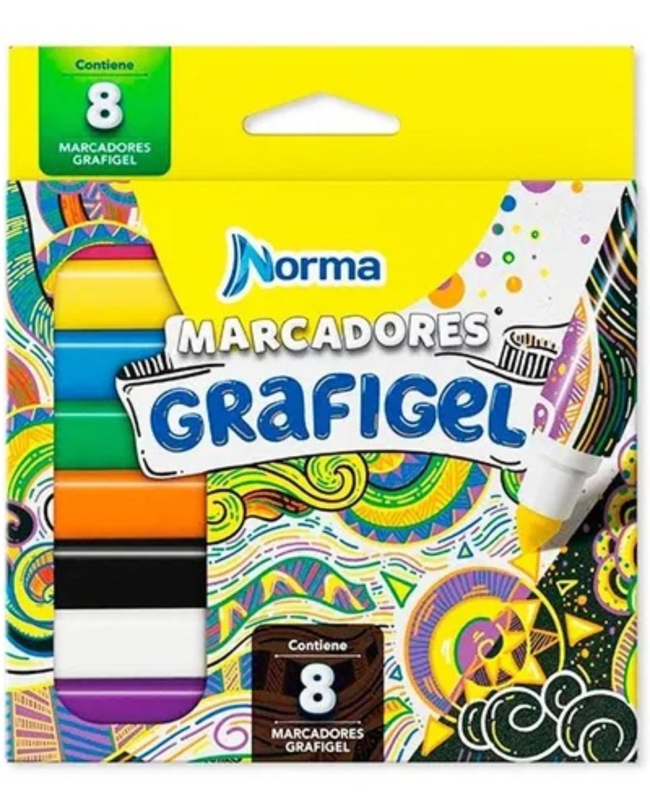 MARCADOR GRAFIGEL X8 KIUT 552007 NORMA_1