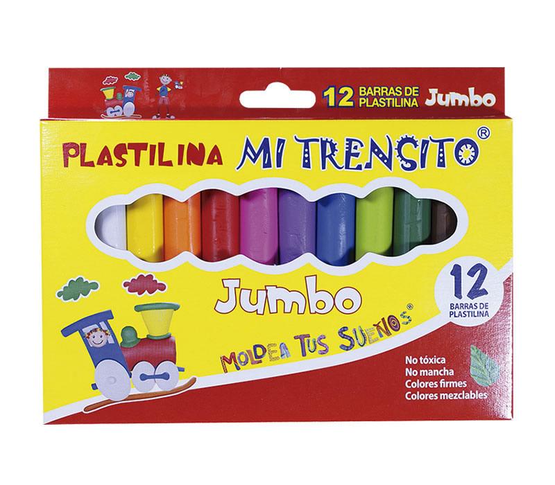 PLASTILINA TRENSITO JUMBO X12 ALVAPLAST_1