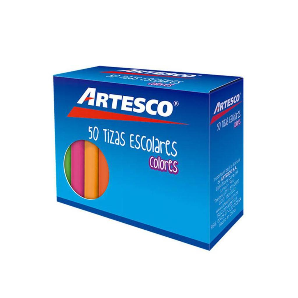 TIZA  ANTIALERGICA BLANCA X50 ARTESCO_2