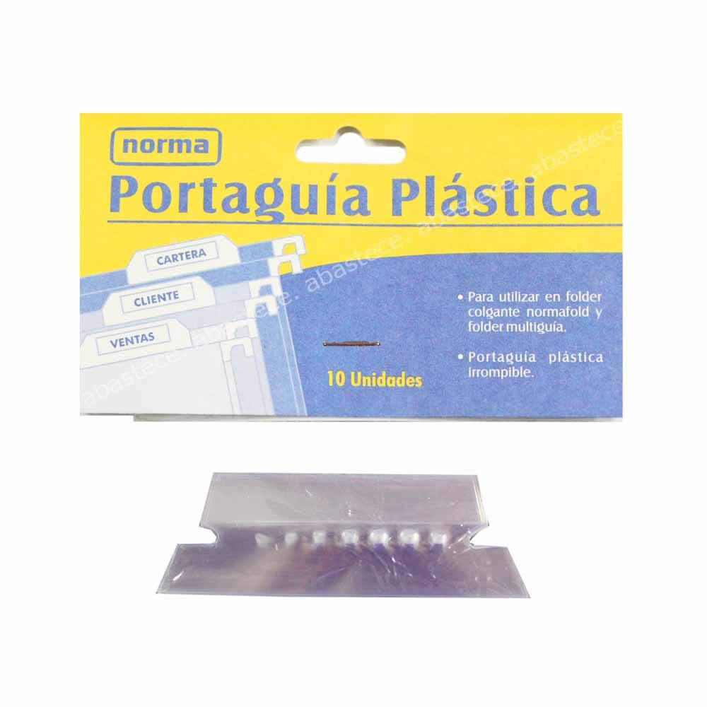 PORTA GUIA PLAST PAQ X10 500394 NORMA_1