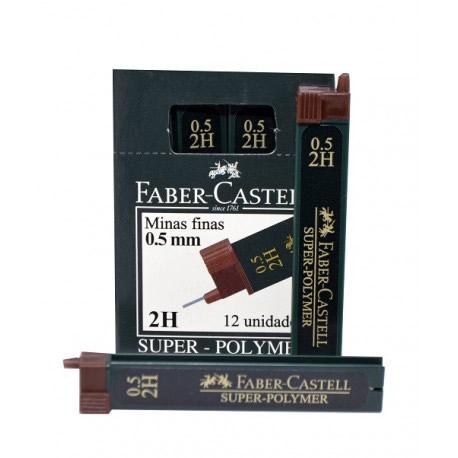 MINA 0.5 MM DUREZA FABER CASTELL C/U_1