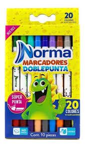 MARCADOR DOBLE PUNTA X10 544612 NORMA_1
