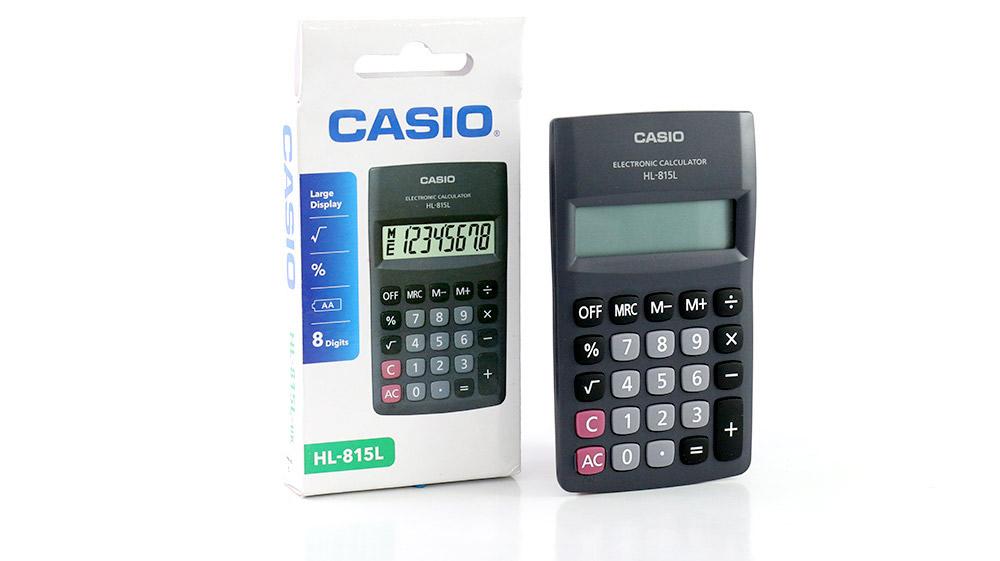 CALCULADORA CASIO HL-815 NEGRA_1