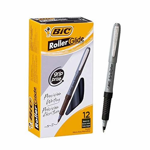 BOLIGRAFO ROLLER GRIP 0 5 NEGRO BIC C/U_2
